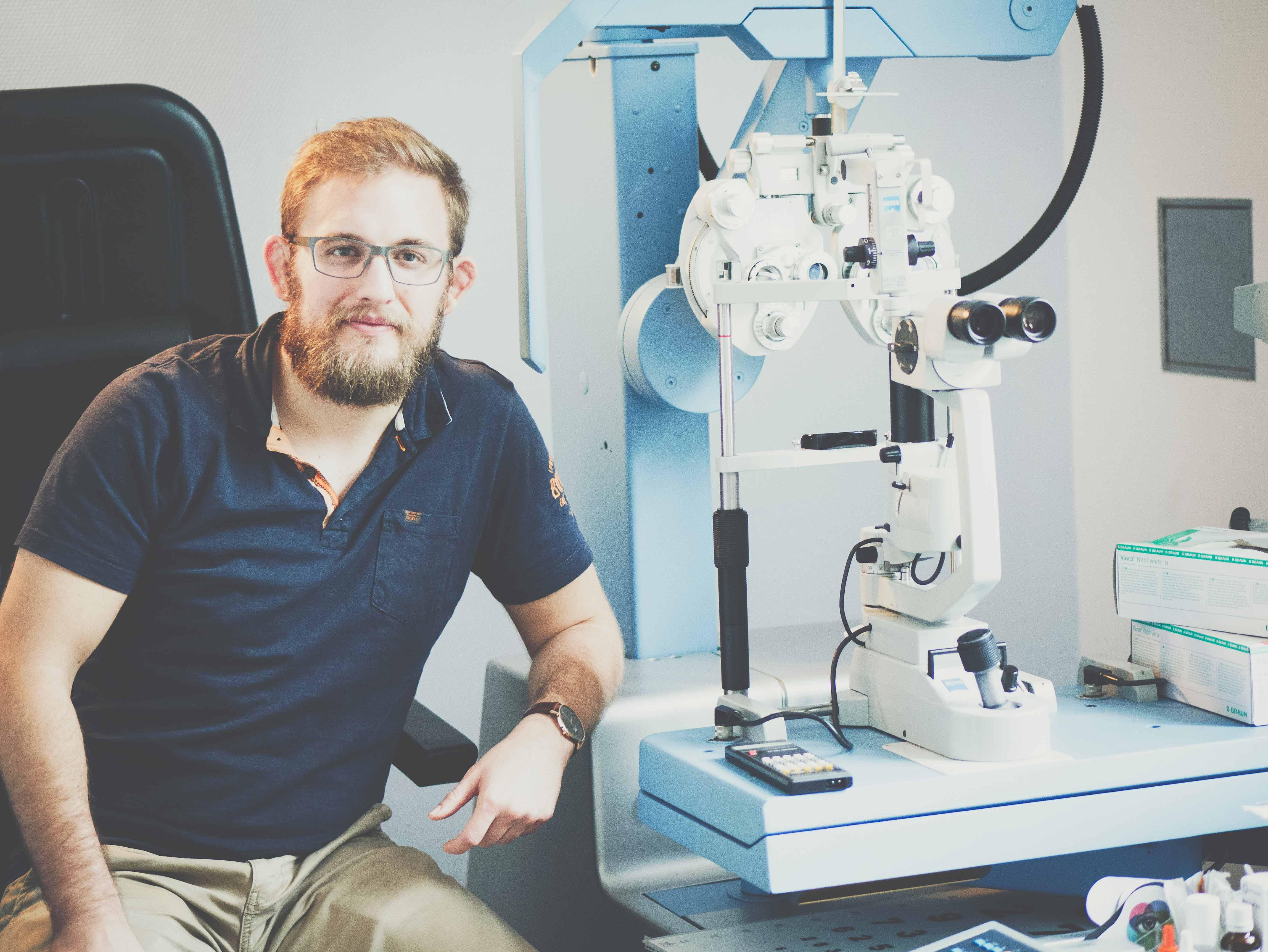 Gero Mayer | Der Augenoptikermeister