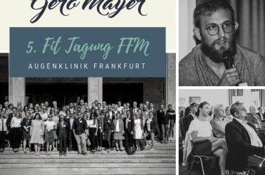 Gero Mayer auf der 5. FIT Tagung