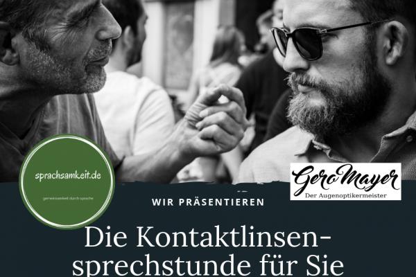 Die neue Sprechstunde für Ihre Augen mit Matthias Werner
